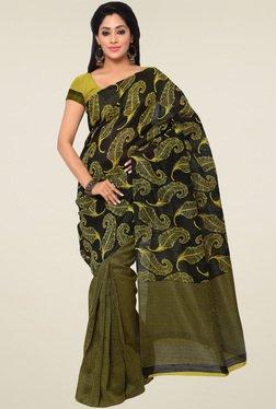 Saree Mall Green Saree With Blouse