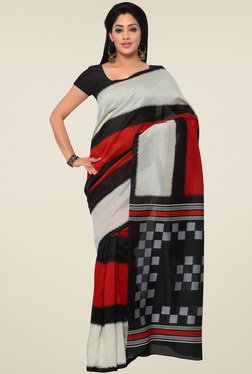 Saree Mall Multicolor Printed Saree With Blouse - Mp000000000903941