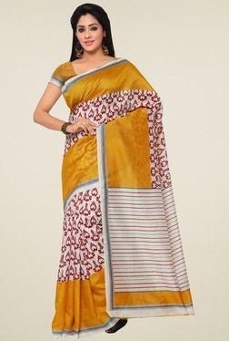 Saree Mall Yellow Saree With Blouse