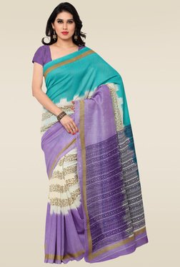 Saree Mall Multicolor Printed Saree With Blouse