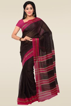 Saree Mall Black Saree With Blouse