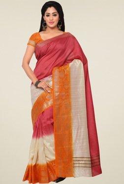 Saree Mall Multicolor Art Silk Saree