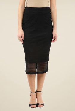 Femella Black Lace Skirt