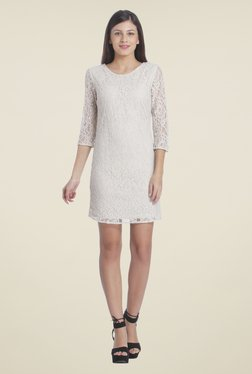 Only Off White Lace Dress