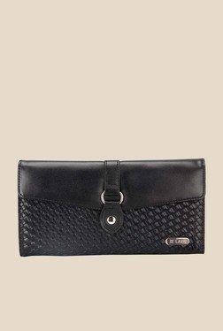 Lavie Melvin Black Textured Wallet
