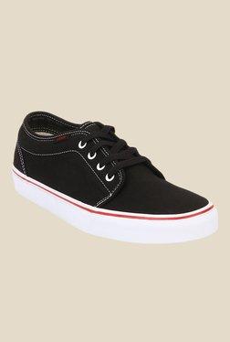 Vans 106 Vulcanized Black & White Sneakers