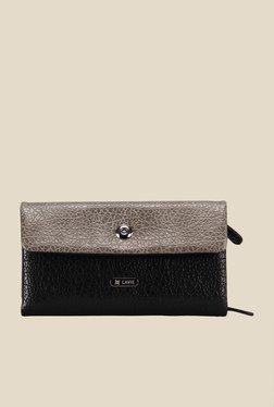 Lavie Bran Black Textured Wallet