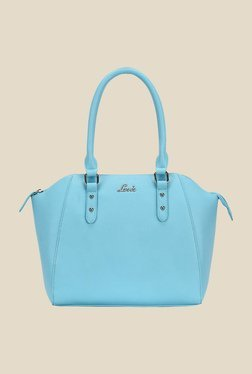 Lavie Haratin Blue Solid Trapeze Bag