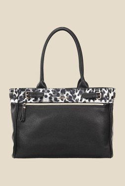 Lavie Congo Black Printed Shoulder Bag