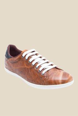Franco Leone Tan & Black Sneakers