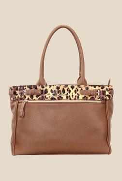 Lavie Congo Brown Printed Shoulder Bag