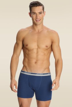 Jockey Mid Blue Boxer Brief Pack of 2 - 8009