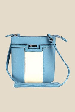 Lavie Dover Blue Top Zip Sling Bag