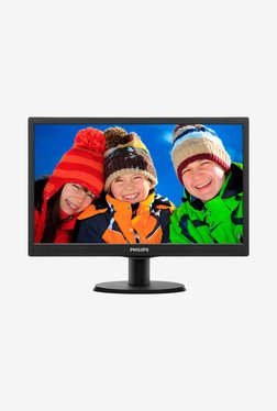Philips 163V5LSB23 39.6cm (15.6 Inch) HD LED Monitor (Black)