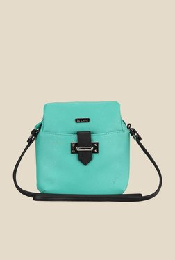 Lavie Dover Turquoise Top Zip Sling Bag