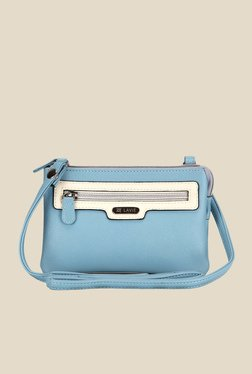 Lavie Dover Blue Top Zip Sling Bag - Mp000000000916716