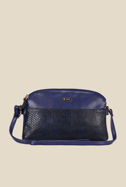 Lavie CSB Navy Textured Sling Bag