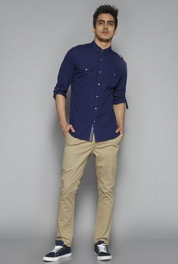 Nuon by Westside Navy Slim Fit Shirt