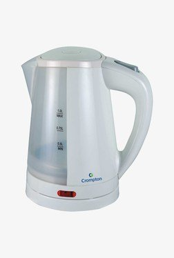Crompton Greaves CG-KP102 1 L Electric Kettle (White)