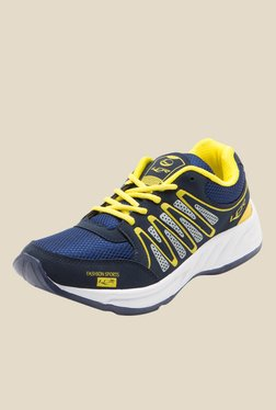 Lancer Hydra Navy & Yellow Running Shoes