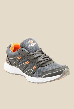 Lancer Malaysia Dark Grey & Orange Running Shoes