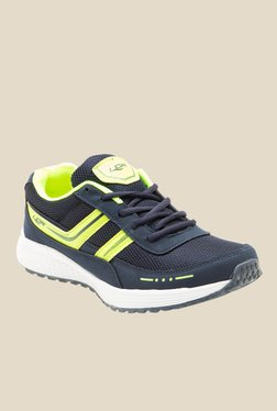 Lancer Malaysia Navy & Parrot Green Running Shoes