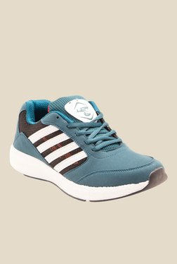 Lancer Cuba Greyish Blue & Black Running Shoes
