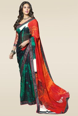RCPC Multicolor Printed Saree With Blouse