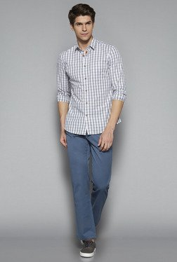 Westsport by Westside Blue Regular Fit Chinos