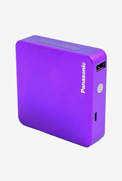 Panasonic Smart Power 5200mAH Power Bank With Pouch (Purple)