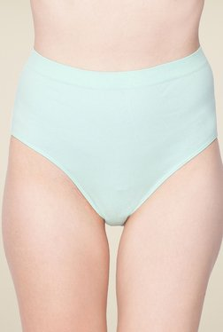 C9 Sea Green Solid Hipster Panty