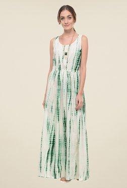 ANS Green Tie Dye Dress