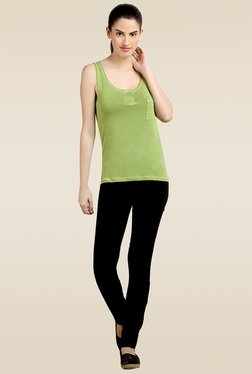 Loco En Cabeza Green Tank Top