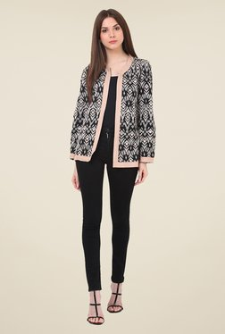 Rena Love Grey Embroidered Jacket