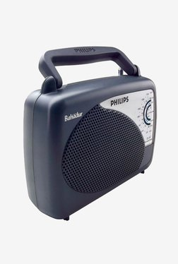 Philips Bahadur DL167 FM Radio (Black)