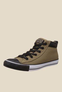 Converse Chuck Taylor All Star Khaki & Black Sneakers