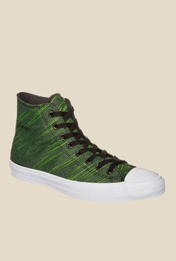 Converse Chuck Taylor All Star Green Ankle High Sneakers