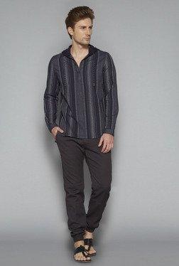ETA By Westside Charcoal Slim Fit Shirt