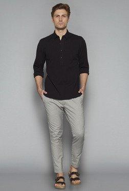 ETA By Westside Grey Slim Fit Trousers