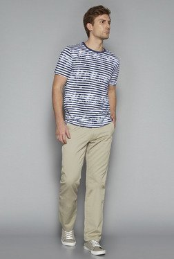 Westsport by Westside Beige Regular Fit Chinos