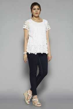 Gia by Westside Off White Abigail Blouse