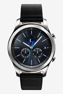 Samsung Gear S3 Classic Smartwatch Large Band (Black/Silver)