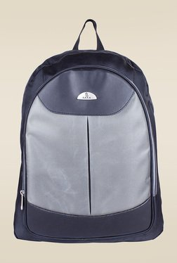 Kara Black & Grey Nylon Unisex Backpack