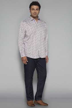 Oak & Keel by Westside Off White Relaxed Fit Shirt