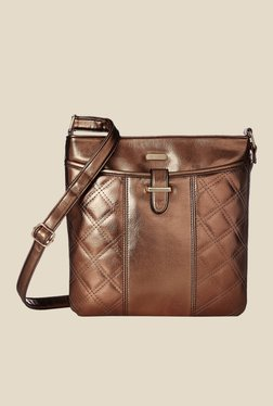 Lavie CSB Copper Quilted Small Sling Bag