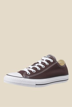Converse Low Top Dark Brown Sneakers