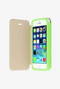 Krusell Malmo Flip Cover Case for iPhone 5/5S (Green)