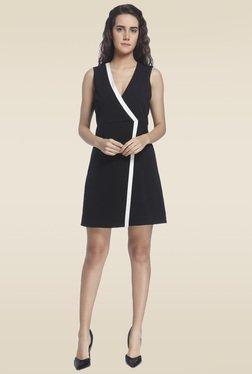 Vero Moda Black V Neck Sheath Dress