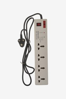 Alex 6A 4 Socket Power Strip With 3m Cord (White)