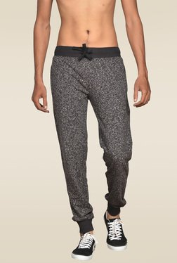 Sweet Dreams Black Mid Rise Regular Fit Track Pant